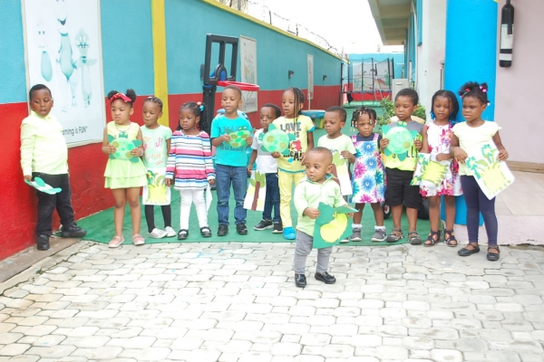 May 2017 Summer Colour Day at Artville School, Chevyview Estate, Chevron, Lekki