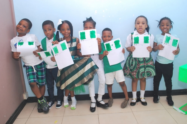 1st October 2018 Nigeria Independence Day at Artville School, Chevyview Estate, Chevron, Lekki